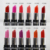 Professional natural long lasting mineral matte lipstick brand name with multi-color available OEM