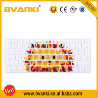 Various computer silicone keyboard covers Colorful laptop custom silicone keyboard cover for asus Macbook Air