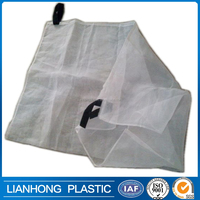 HDPE date mesh/net bag with velcro, date bag/date harvest bag