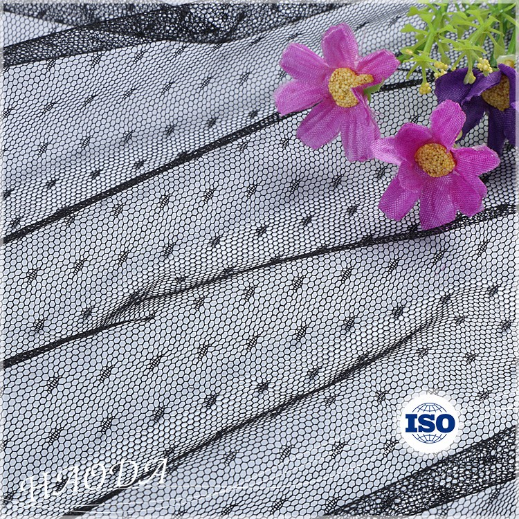 Manufacture Haoda Home Textiles Spacer Soft Mesh Embroidery Fabric