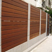 Popular WPC Fence Cheap Fence For