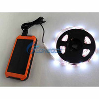 High quality 12V Waterproof IP65 battery powered Flexible Led Strip light