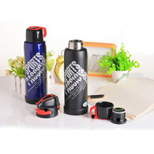 Best selling double wall stainless steel thermos/vacuum flask/custom water bottles