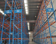 76.2mm selective pallet rack system heavy duty metal storage rack