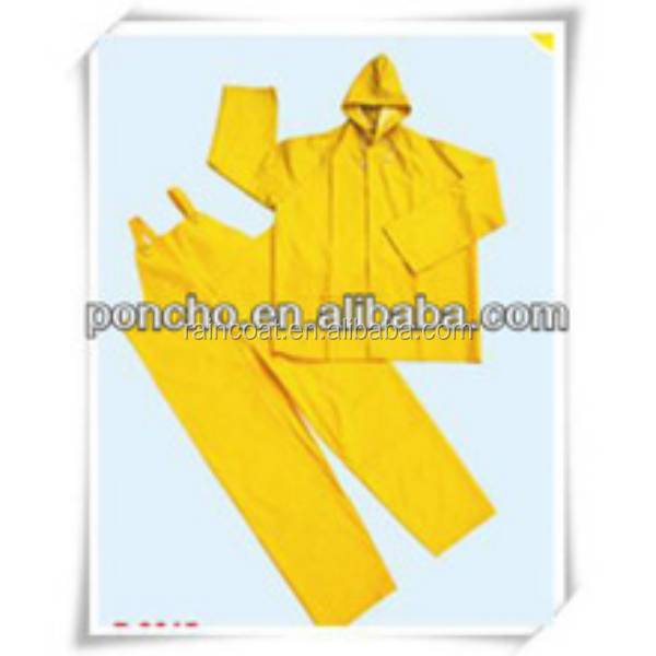 PVC raincoat/polyester raincoat/Plastic rain suit