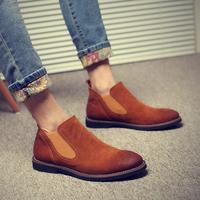 S10707A Fashion 2015 Good Quality Western Cowboy Men Safety Boots