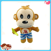 Wholesale Good Quality Stuffed Plush Cute Monkey Shaped Soft Toys