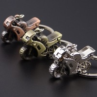 Manufacturers selling creative zinc alloy motorcycle keychain car key chain