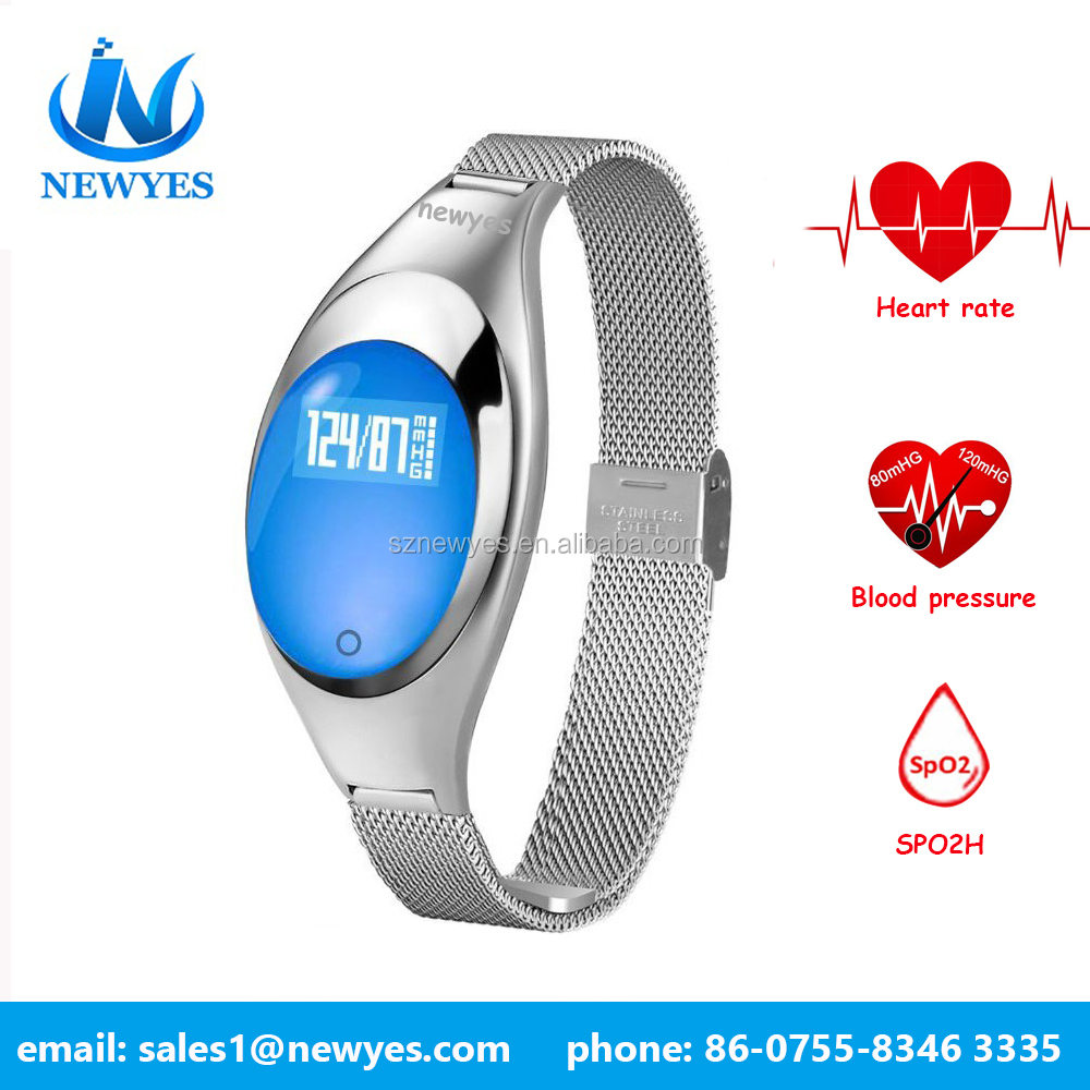 Newyes waterproof smart watch with heart rate monitor smart watch waterproof