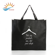 Factory price new design laminated pictures printing non woven shopping carry bag