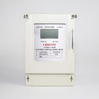 DTSY7666 Three Phase Digital Prepaid Energy Meter Prepayment Electric Meter