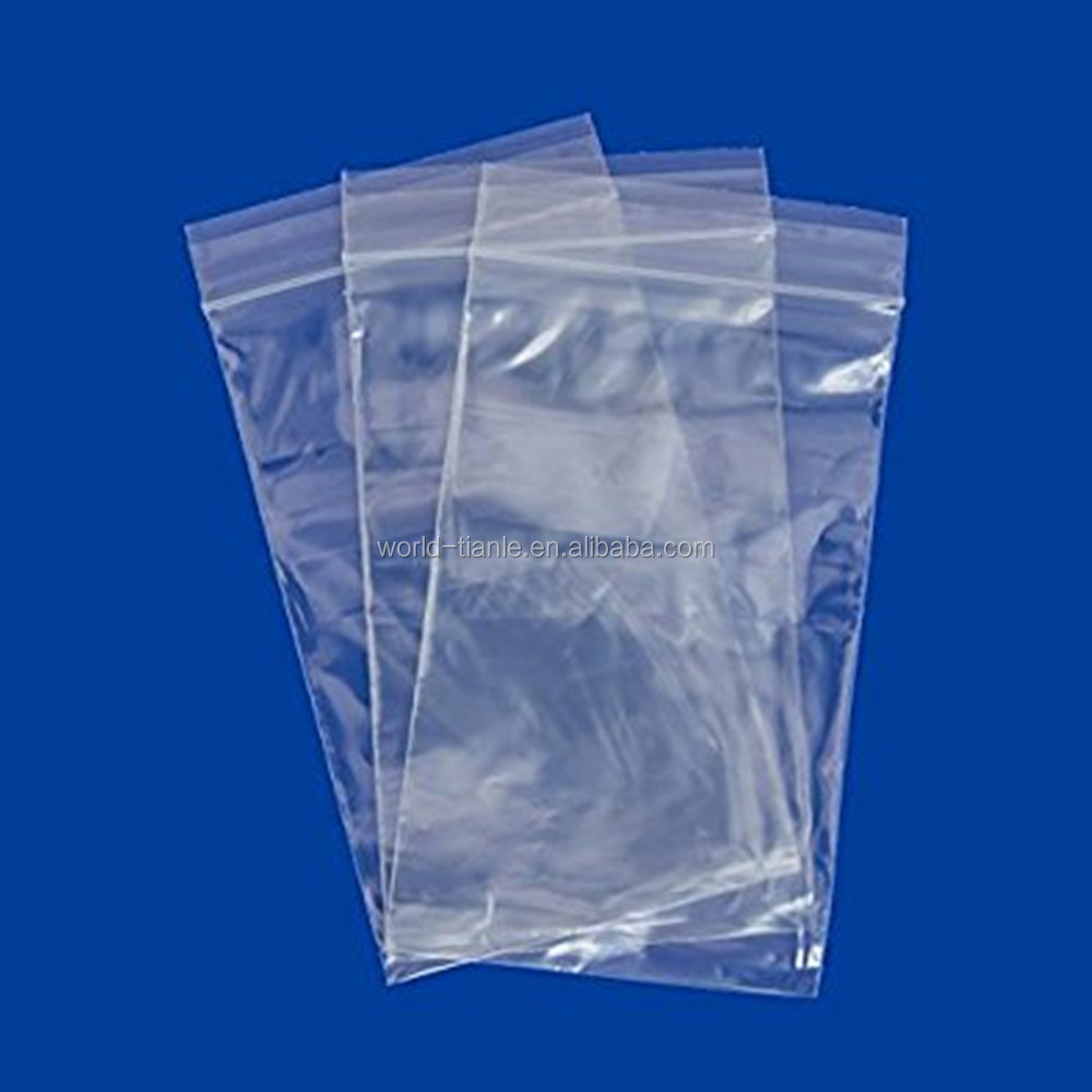 3x5 Plastic Zip Top Bags Clear Plastic Zip-lock Bags