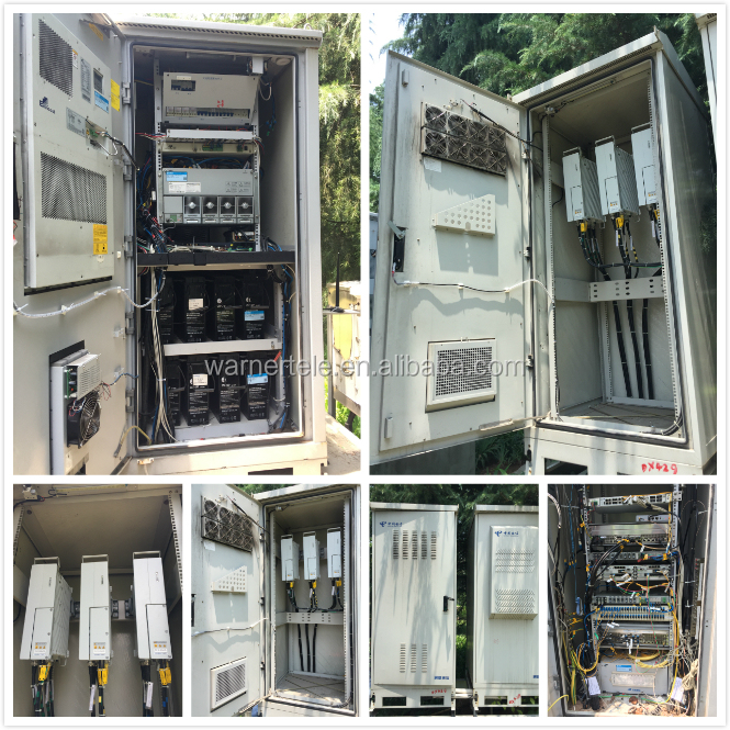 W-TEL industrial counter flow heat exchanger for telecom shelter cabinet
