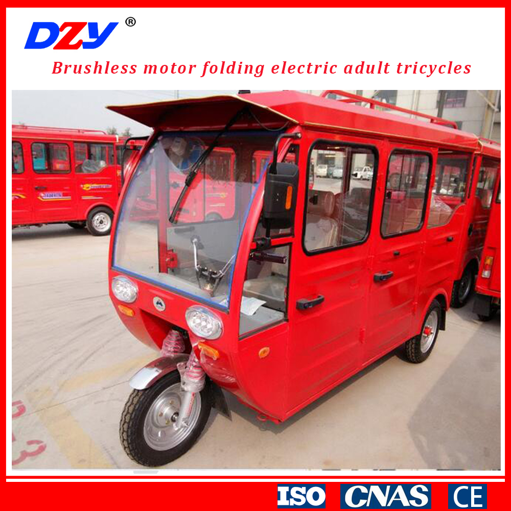 800w 60v CE and EEC certification 3 wheel motor gasoline electric tricycle