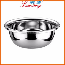 2017 Hot sale Hotel Large capacity 60cm Stainless Steel Vegetable Deep Wash Basin