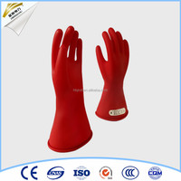 Durable high voltage safety 14 inch Electric gloves class 0