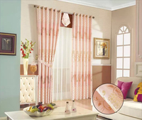 2016 luxury hotel jacquard drapes