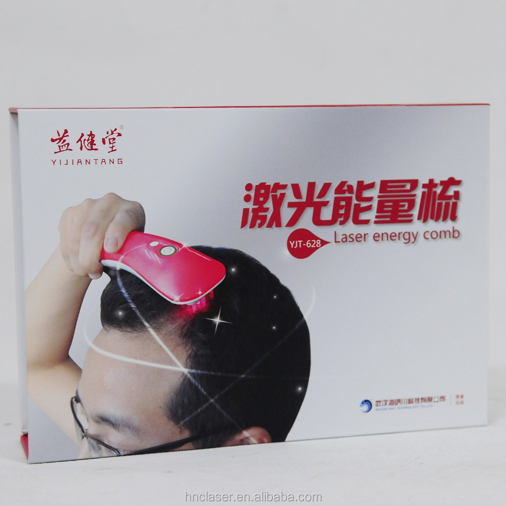 China Manufacturer Electric Hair Growth Laser Comb with LED Red & Blue Light Therapy, Looking for distributors