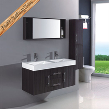 hotel projects high gloss melamine bathroom cabinet mdf melamine bathrom cabinet