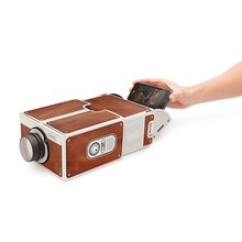 Best quality 2017 Smartphone projector ,handmade data projector,cardboard projector