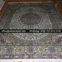 large area classic persian silk carpets home