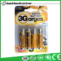 High Performance Efficient Energy Dry Cell 1.5V Aa Battery