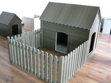 ECO friendly high quality wpc waterproof dog house