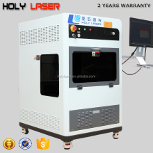 HSGP-4KB HolyLaser 3D glass laser engraving machine for gift making key chains crystal crafts