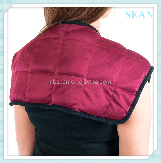 Hot Heat Pain Relief shoulder ice packs with red colour pack wrap pad
