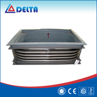 Stainless Steel Rectangular Heat Exchanger Expansion Joint