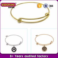 Accept Custom Design guangzhou bangles gold image