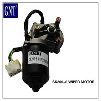 GNT brand good quality kobelco wiper motor for SK200-8 excavator parts