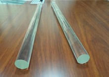 8mm rod made of high borosilicate glass for decorative usage