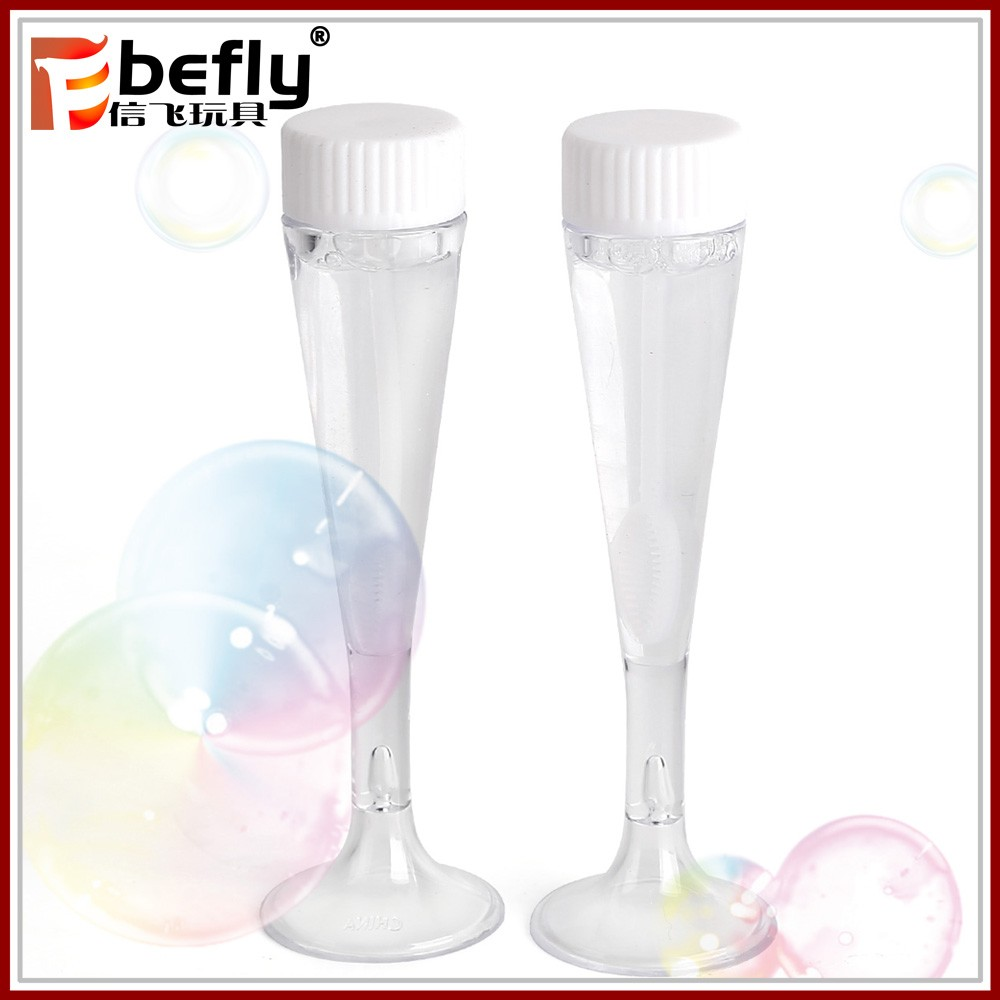 Most popular party favor wedding soap bubble tube toy