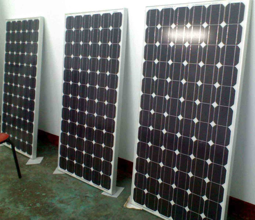 95W mono silicon solar panel With ISO ,TUV,CE