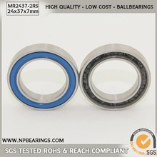 Best Selling low noise ceramic cycling bearing mr2437