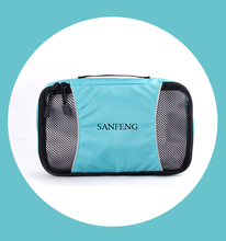 Custom Slim Packing Cubes Small Travel Clothes Storage Bag, Wholesale Mesh Laundry Bag Organizer Insert