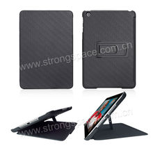 Black Protect Case With Kickstand For New iPad Smart Case