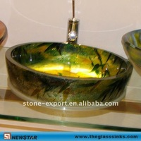 Table top Glass vessel sinks