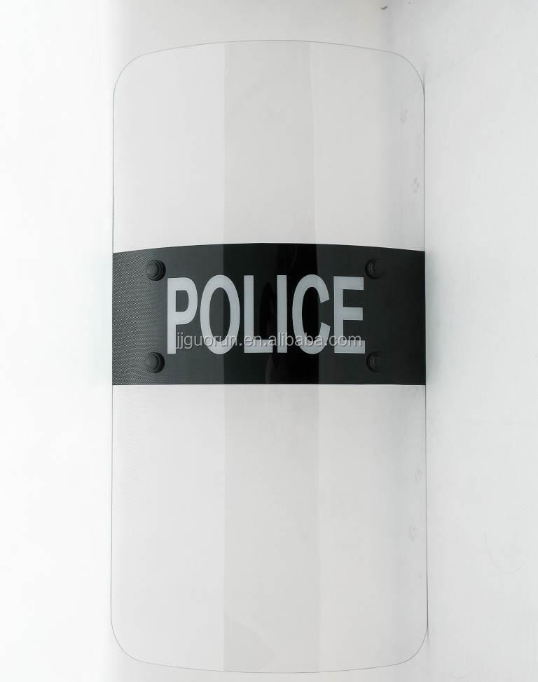 PC Plastic Anti Riot Police Shield