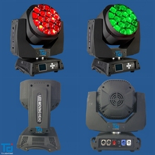 Good quality Wash 4IN1 19X15W bee eye moving head sharp light TV show led lighting
