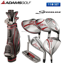 [golf clubs] ADAMS golf Speedline club set 11pc(1W,3W,5W,U5,I6-P,SW,PT) Original carbon shaft with caddy bag