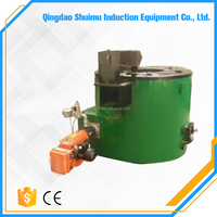 Oil gas fire aluminum melting furnace