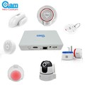 iOS/Android controlled auto alarm system for home security, 868MHz smart home system, no need SIM card