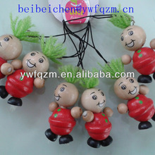 promotional gift wooden key chain