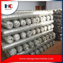 Bwg17 galvanized hexagonal retaining wall wire netting
