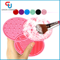 Silicone Scrubber Adhesive Makeup Cleaning Brush Pad Cleaner Adsorption Scrubbing