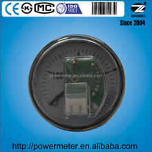 2 inch /50mm back connection cng natural gas pressure gauge for car
