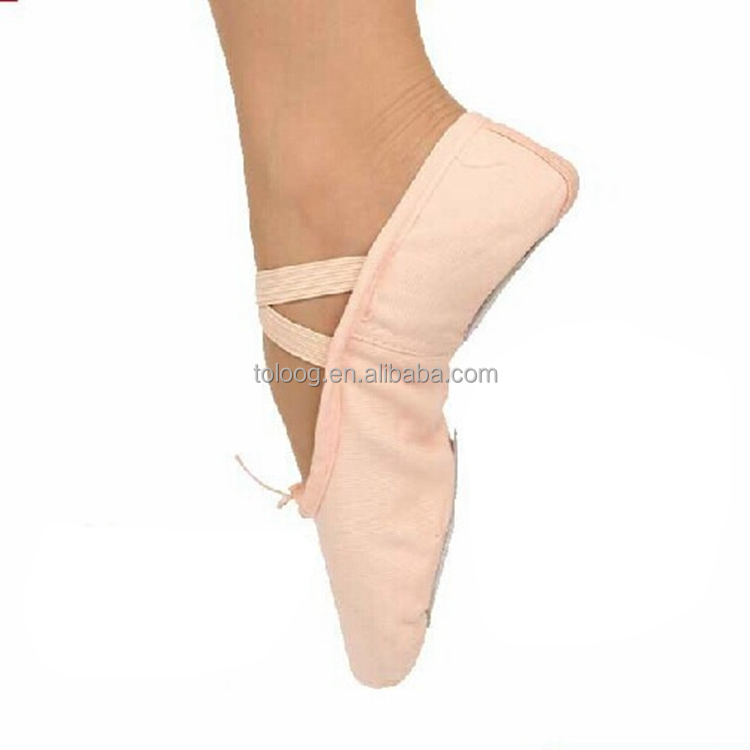 2017 New Style Cheap Adult Canvas Ballet Flat Shoes Wholesale China Factory