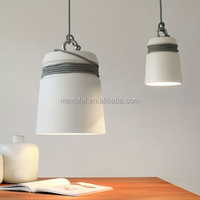 Industrial cement lamp shade ceiling lamp/ concrete hanging pendant lamp